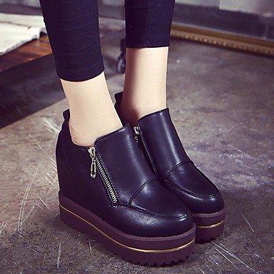 pwne La Mujer Sneakers Confort Pu Primavera Negra Casual Planas Negro Us5 / Ue35 / Uk3 / Cn34 US6 / EU36 / UK4 / CN36