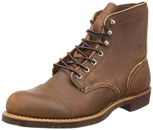 Red Wing Heritage Iron Ranger 6-Inch Boot, Copper Rough & Tough, 12 D(M) (Red Wing Casual Boots)