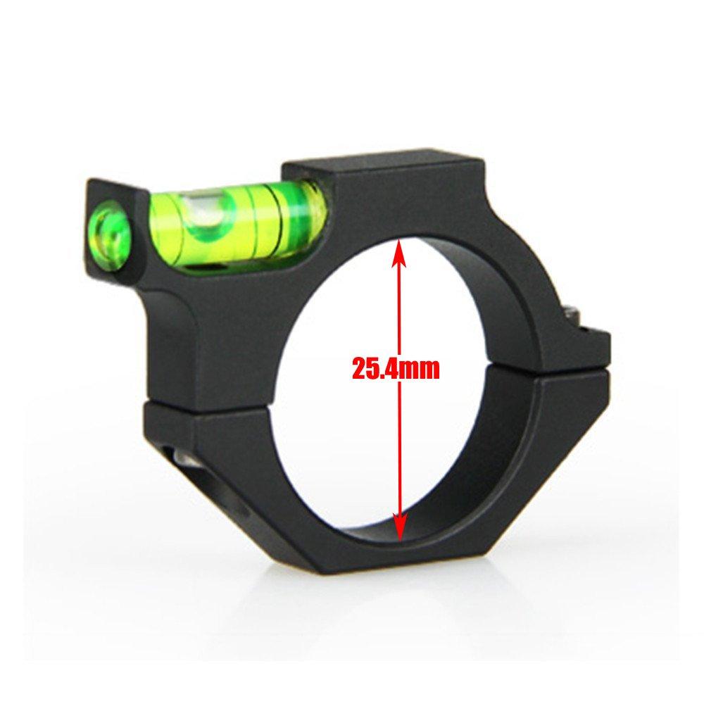 UniqueFire 25,4/30mm lunette de visée Niveau à bulle Bague support de fixation Gradienter ACD adaptateur pour longue portée Sight activités de plein air, ACD01_ 25.4mm/1 inch ACD01_1in