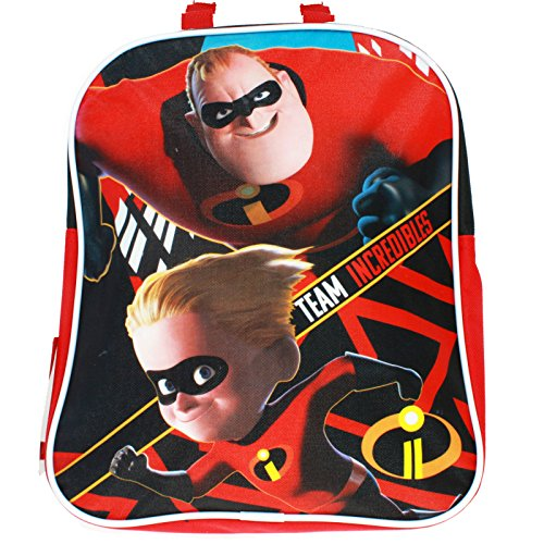 Disney Pixar The Incredibles 2 Movie Team Incredibles Mini Backpack Book Bag for Back to School - 11 ()