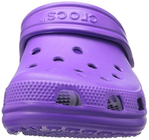 Crocs Kids Klassiska Täppa Neon Lila