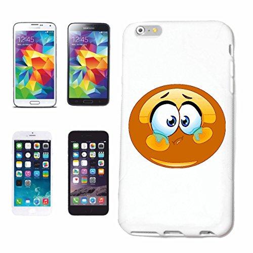 """cas de téléphone iPhone 7+ Plus """"AFRICAN SMILEY """"sourire EMOTICON sa SMILEYS SMILIES ANDROID IPHONE EMOTICONS IOS APP"""" Hard Case Cover Téléphone Covers Smart Cover pour Apple iPhone en blanc"""