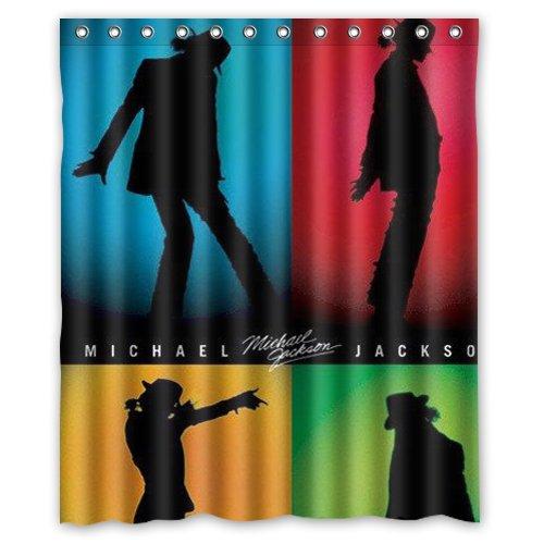 Michael Jackson shower curtain 60x72 inch: Amazon.ca: Clothing \u0026 Accessories