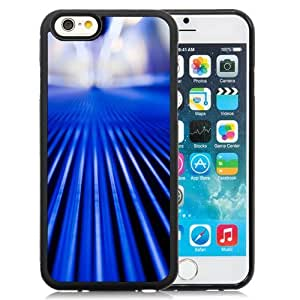 New Beautiful Custom Designed Cover Case For iPhone 6 4.7 Inch TPU With Your Blue Vegas Phone Case