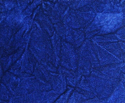 - CRUSHED FLOCKING VELVET UPHOLSTERY / CURTAIN FABRIC 10 COLORS 60