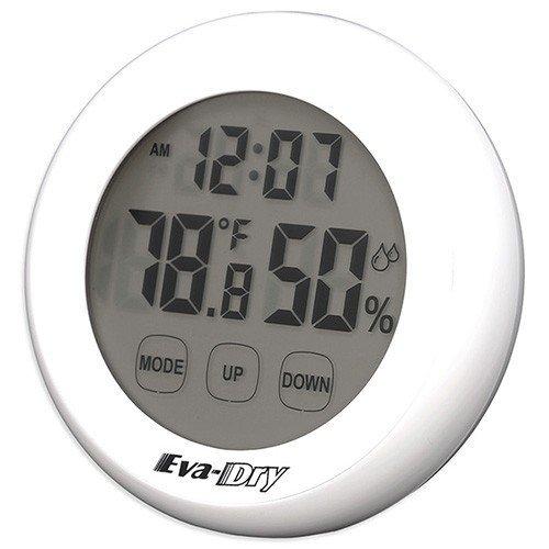 Eva-dry Edv-2200 Dehumidifier + Eva-Dry Indoor Humidity Monitor Hygrometer,White, Gray by Eva-Dry (Image #2)