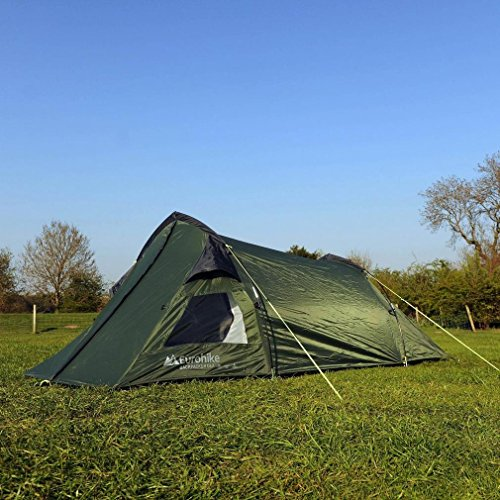 Backpacker Deluxe Tent Green One Size Equipment 4 Camping