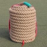 BAI-Fine Tug-of-war Rope 20m/25m/30m, Sports & Outdoors Strength Training Equipment Diameter 4 cm Linen Rope (Size : 25m)