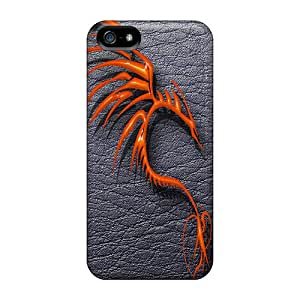 Slim Fit Tpu Protector Shock Absorbent Bumper Tribal Dragon Case For Iphone 5/5s