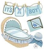 Ek Success Jolee's Boutique Boy Clothesline Dimensional Stickers
