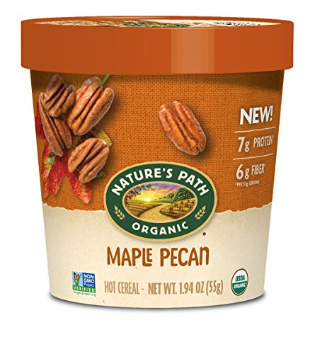 Nature's Path Organic Oatmeal Cup, Maple Pecan, 12 Count