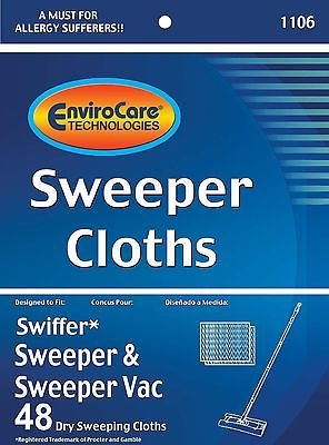 Peach Mop (Swiffer Sweeper Dry Sweeping Cloth Refills,)