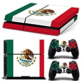 CSBC Skins Sony PS4 Design Foils Faceplate Set - Mexico Design