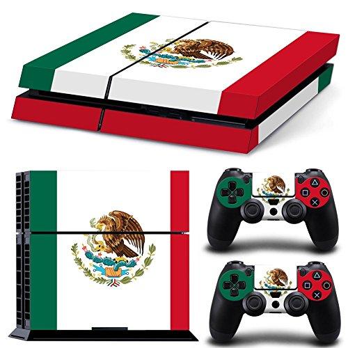 Cheap CSBC Skins Sony PS4 Design Foils Faceplate Set – Mexico Design
