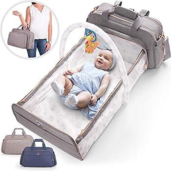 Confachi 4-in-1 Convertible Baby Diaper Bag