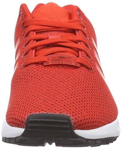 Chaussures De Adidas Flux blanc Rouge Zx Homme Course Eq8Bnwz8