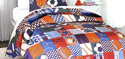 Heritage Kids Sports Twin Comforter Set, 2 Piece
