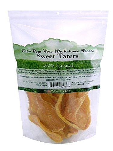 Papa Bow Wow Usa Sourced Sweet Potato Dog Treat, 12 Oz