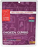 GOOD TO-GO Chicken Gumbo - Single Serving | Dehydrated Backpacking and Camping Food | Lightweight | Easy to Prepare