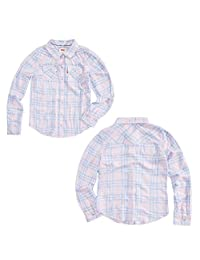 Levi's Girls The Western LS Shirt Blouses & Button-Down Shirts