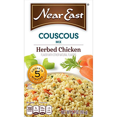 - Near East Couscos Mix, Herbed Chicken (Pack of 12 Boxes)