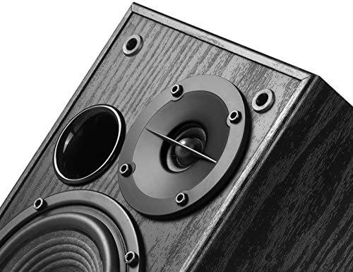 Edifier R1100 Altavoz 42 W Negro - Altavoces (De 2 vías, Alámbrico, RCA / 3.5mm, 42 W, 75-18000 Hz, Negro)