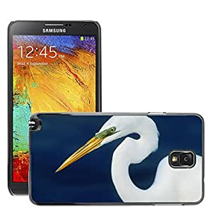 Hot Style Cell Phone PC Hard Case Cover // M00046958 birds egret form perfect animals // Samsung Galaxy NOTE 3