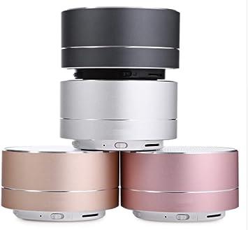 Shot Case Altavoz Metal Bluetooth para Sony Xperia XA1 Ultra Smartphone Port USB Tarjeta TF Auxiliar Altavoz Micro Mini Negro: Amazon.es: Electrónica