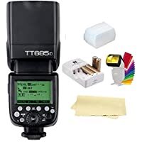 Godox Thinklite TT685F TTL 2.4GHz GN60 High Speed Sync 1/8000s Wireless Master Slave Camera Flash Speedlite Speedlight Light For Fujifilm Cameras X-Pro2, X-T20, X-T2, X-T1; X-Pro1, X-T10, X-E1, X-A3