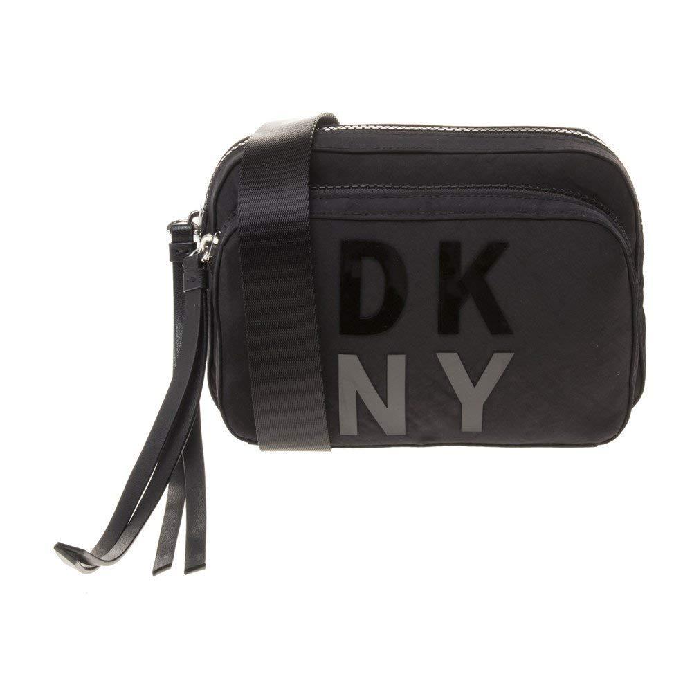 DKNY Mini Logo Mujer Cross Body Bag Negro