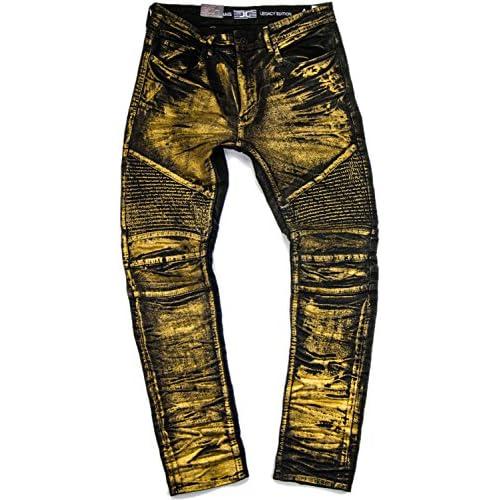 73f65b81205e8a 70%OFF MEN S JORDAN CRAIG BIKER JEANS JET GOLD - superpressreleases.com