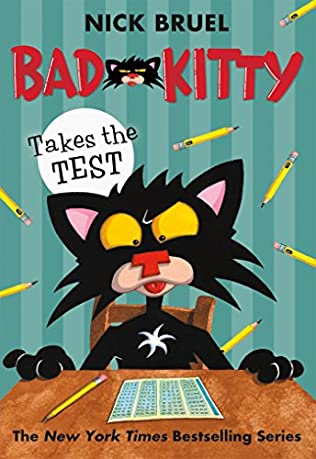 book cover of Bad Kitty Takes a Test