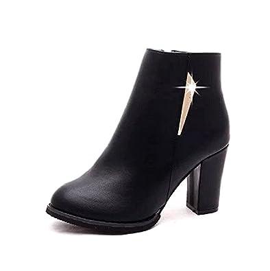 Inception Pro Infinite Frauen Stiefel mit Schnürsenkel und Reißverschluss-ZJP-002 (EU 40 = 39) BLbQ8SM7TM