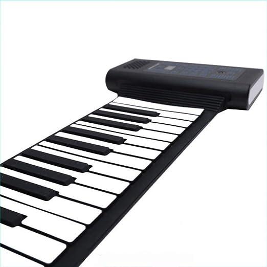 YIHANGG Rollo De Mano Piano 88 Engrosamiento De Teclas ...