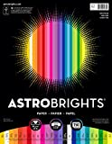 "Office Products : Astrobrights Color Paper, 8.5"" x 11"", 24 lb/89 gsm, ""Spectrum"" 25-Color Assortment, 150 Sheets (80933-01)"
