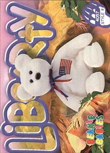 Libearty Bear (1999 Beanie Babies Series III #102 Libearty the Bear /4057 - NM-MT)