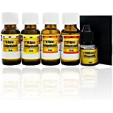 Prueba de oro y kit de prueba, kit de prueba de oro, ácidos 8K, 14K, 18K, 21K