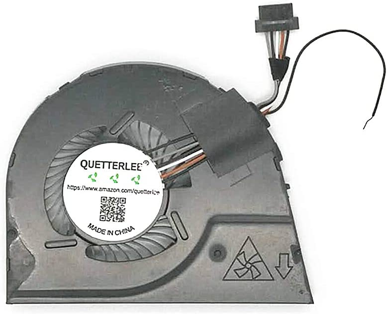 QUETTERLEE Replacement New CPU Cooling Fan for Lenovo ThinkPad Yoga S1 Yoga 12 Series 04X6440 00HT721 00HT722 00HT723 KDB05105HBA05-A02 KDB05105HBA05-A05 DC5V 0.40A Fan