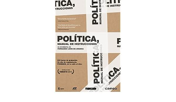 Amazon.com: Política manual de instrucciones [Non-usa Format ...