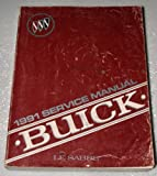 1991 Buick Le Sabre Factory Service Manual