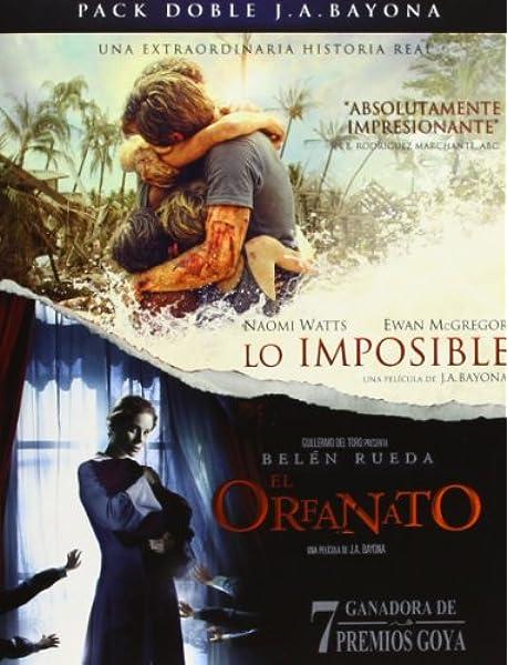 Pack: El Orfanato + Lo Imposible [Blu-ray]: Amazon.es: Naomi Watts ...