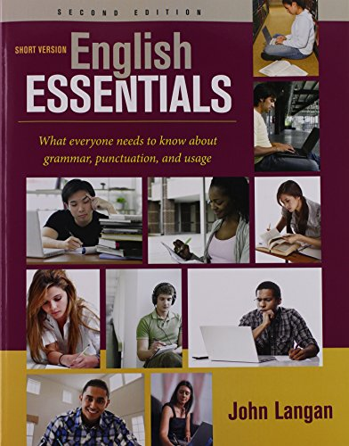 English Essentials,Short Ver. W/Access
