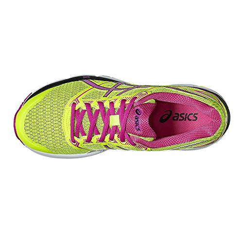 Scarpe Donna 8 Ginnastica Pink Black Yellow Glow Asics Gel Safety Phoenix da anYWtWA4
