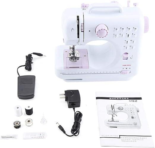 Mini máquina de coser, mini máquinas de coser Hilos dobles ...