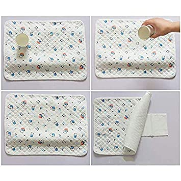 XXL Breathable Leak Proof Mattress Pad Protector Baby Changing Mat for Toddler 55.1x27.5 inch Waterproof Changing Pads Portable