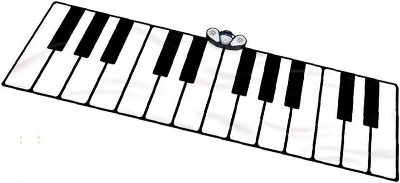 ROCK1ON Grande Alfombra para Piano, Teclado Táctil para Niños ...