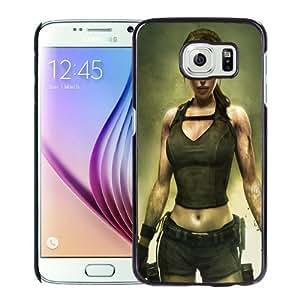 NEW Unique Custom Designed Samsung Galaxy S6 Phone Case With Tomb Raider Underworld_Black Phone Case