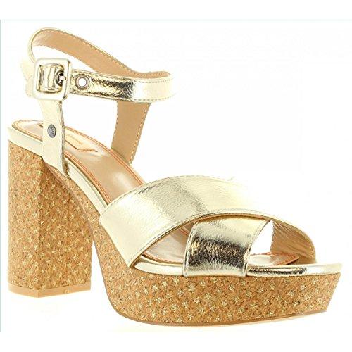 099 Per Grace Sandali Pepe Pls90161 Jeans Gold Donna qqOYrE