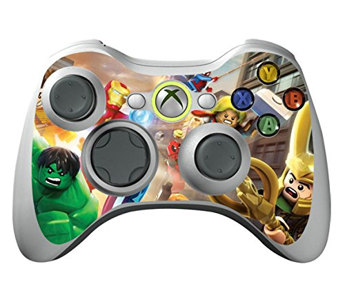 (Protective Custom Vinyl Sticker Skin For X360 Slim Wireless Gaming Controller - X3 Controller Decal [ Controller Not Included ])