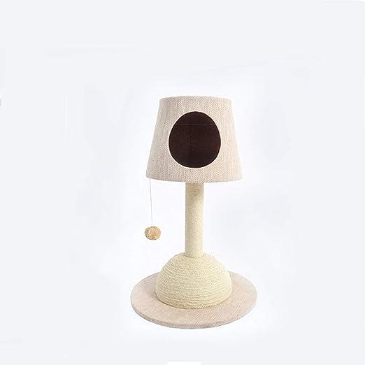 Lámpara de Mesa Gato Marco de Escalada Gato camada Gato árbol uno ...